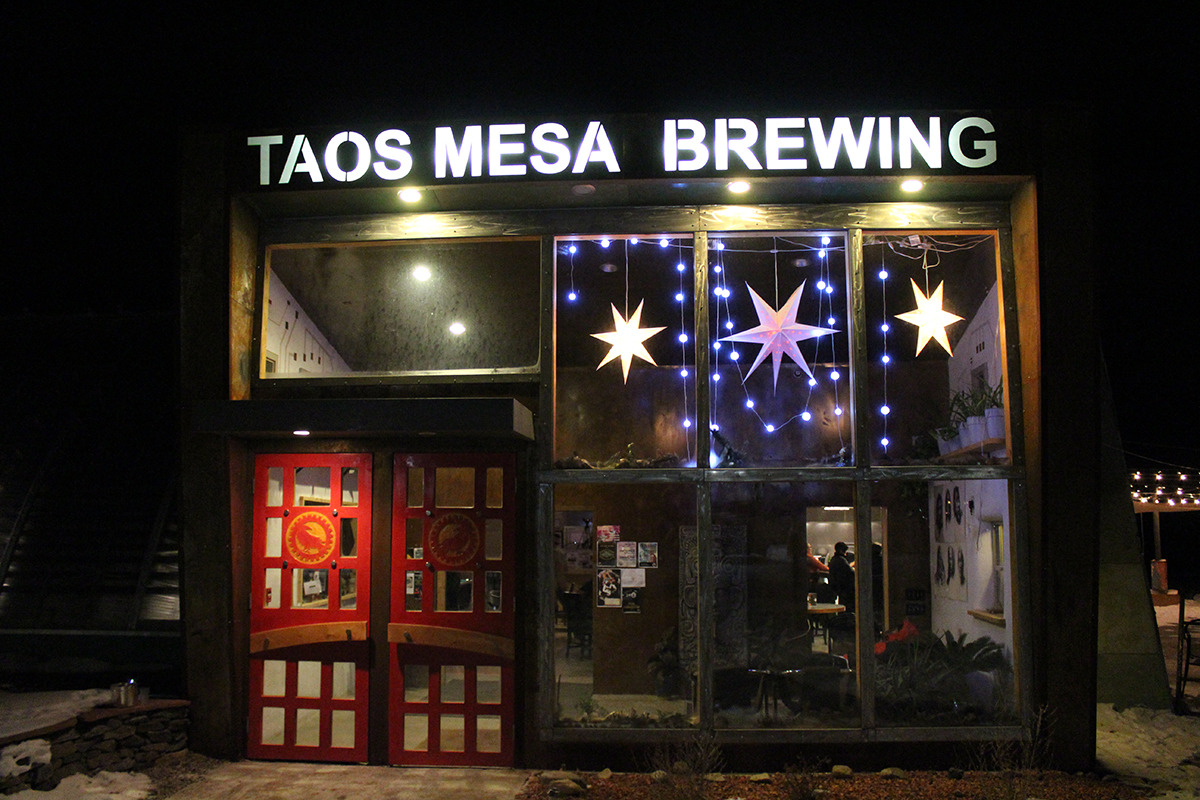 The Taos Mesa Brewing Company in Taos New Mexico