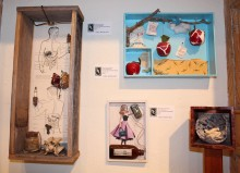 ibby Macalister, Found Objects, Mixed Media