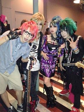 Tomo from The Rhedoric, Carat, Rayko from Lolita Dark photo by Rayko Dig