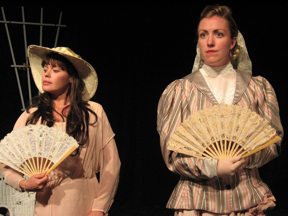 Katy Palmier and Rita O'Connell in The Importance of Being Earnest