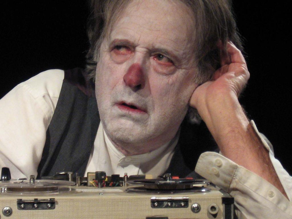 Steve Parks in Krapp's Last Tape