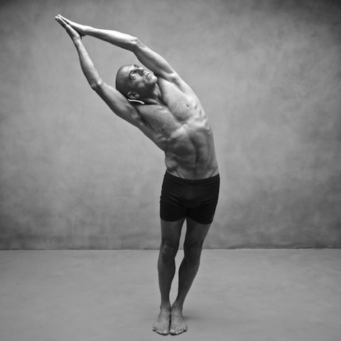 Richard Spera in Indudalasana, by Zoe Zimmerman for Sundara Studios 2014