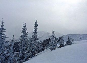 Kachina Peak with fresh snow.