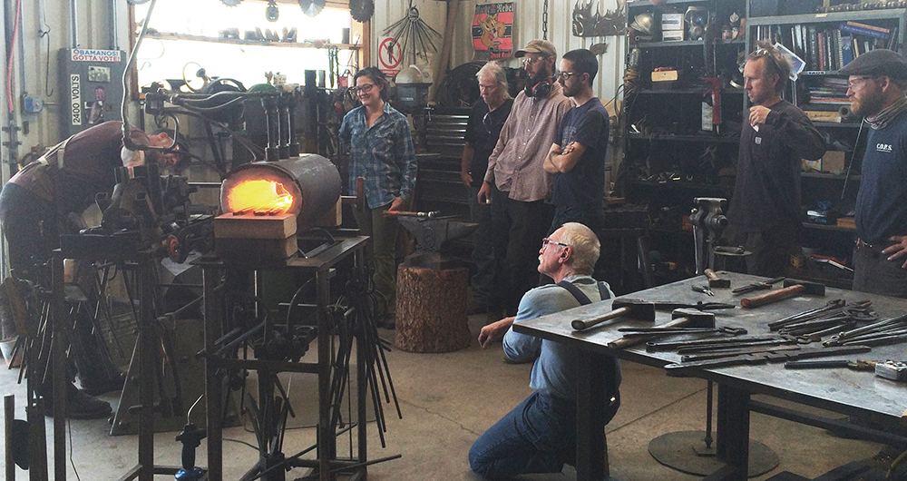 smithing class