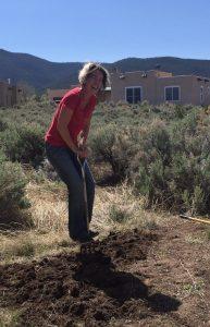 Julie Gardening