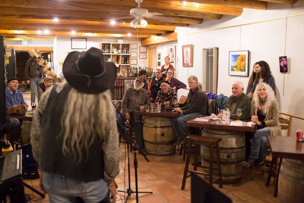 Taos Open Mic - Black Mesa Tasting Room