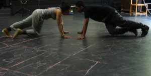 All Photos taken during a rehearsal for Gaza Mono-logues courtesy of Elayna Snyder.