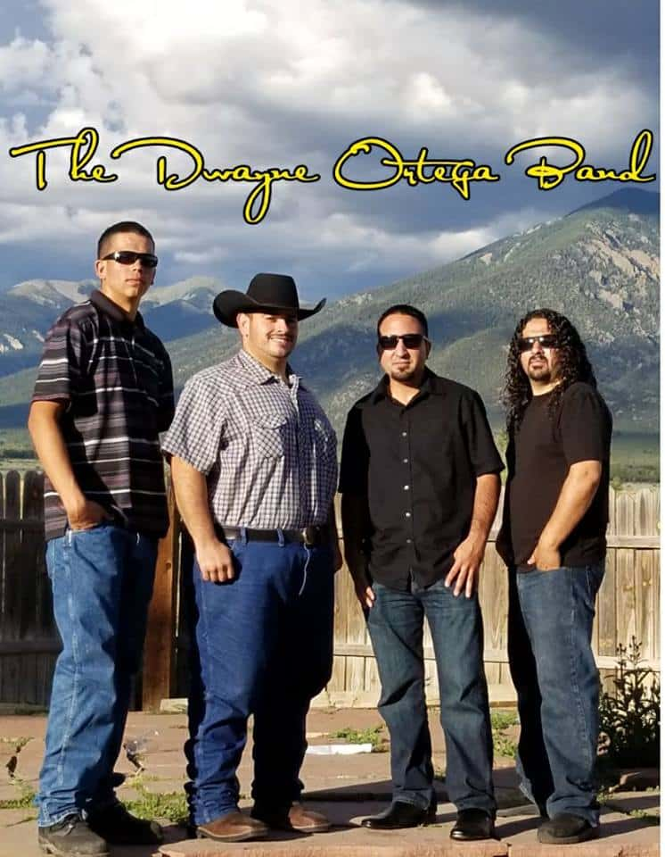 Taos Plaza Live -- The Dwayne Ortega Band