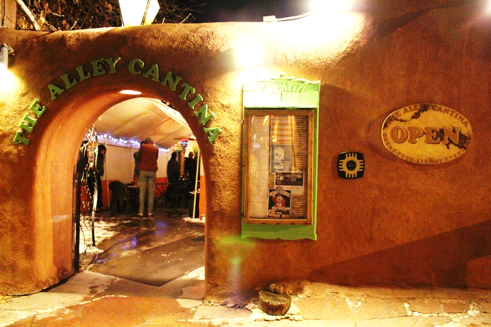 The Alley Cantina, one of Taos' favorite local bars