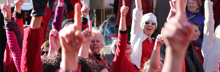 One Billion Rising in Taos, New Mexico 2013!