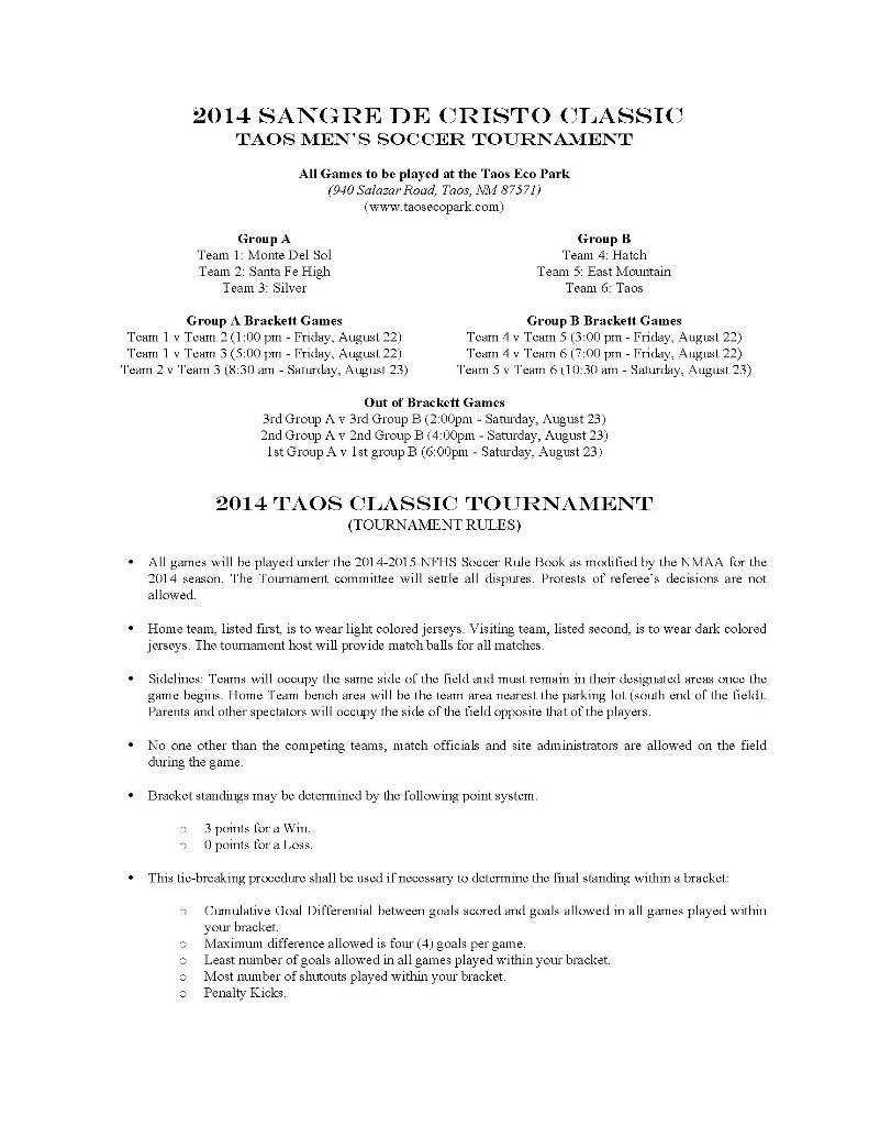 2014 Taos Sangre de Cristo Classic (Men)_Page_1