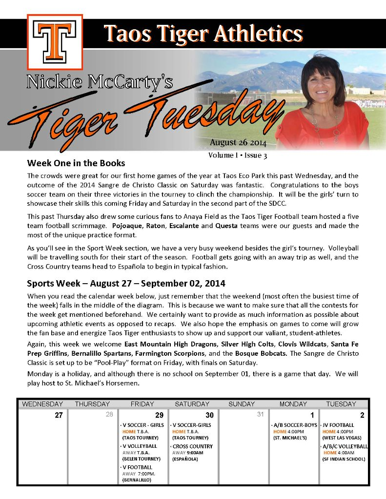 Taos Tiger Tuesday - August 26,      2014_Page_1