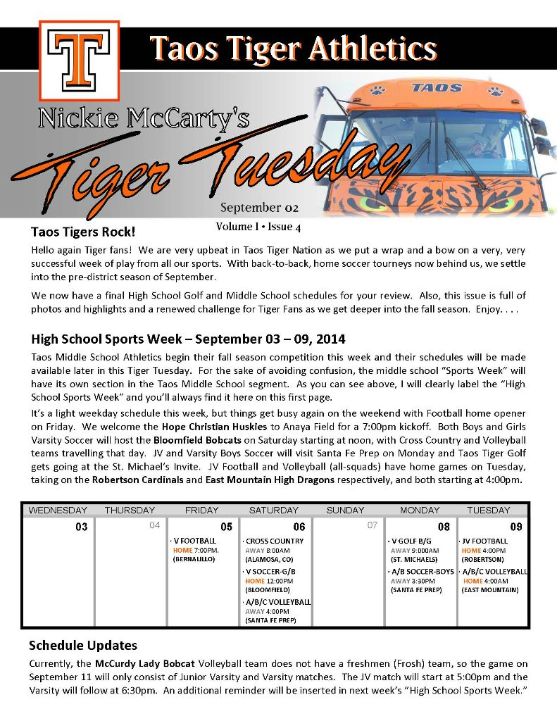 Taos Tiger Tuesday - September 02, 2014_Page_1
