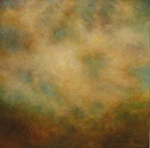 """TURBULENCE 30 X 30"""" Oil on Canvas"""