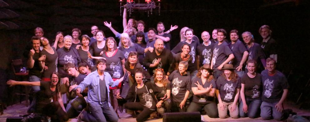 Participants in the 2014 Gorilla Theater Festival