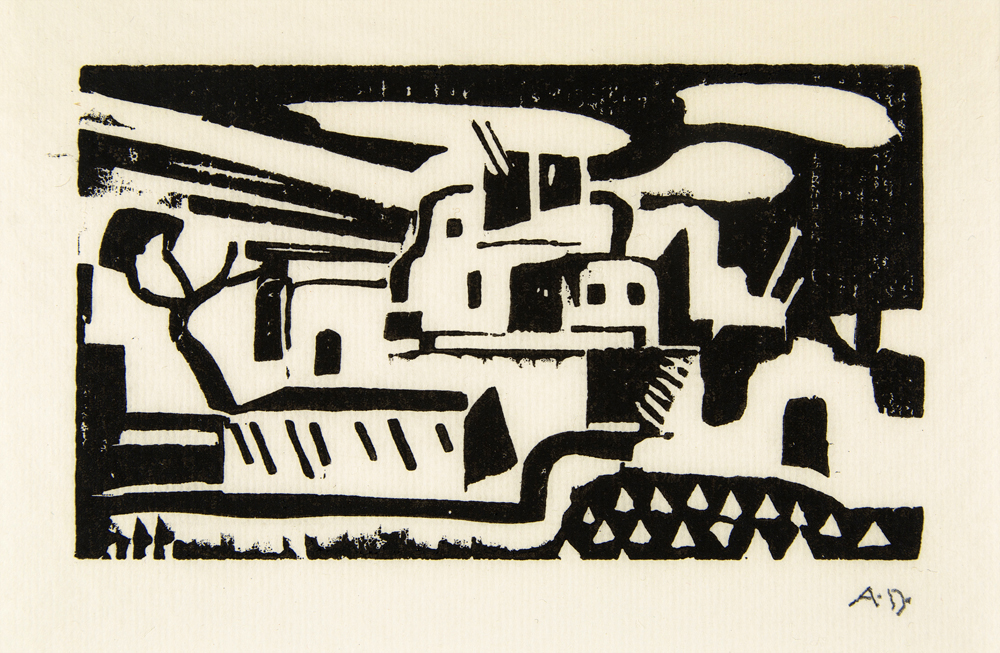 Andrew Dasburg, untitled woodcut, n.d. private collection