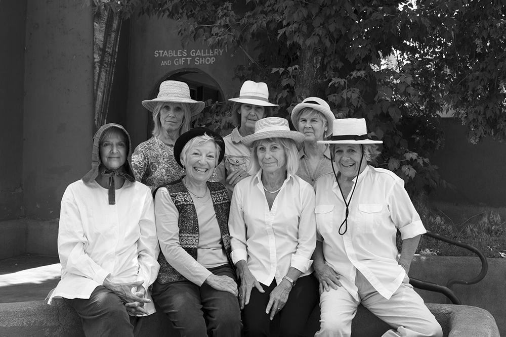 TNT the Group Back L -R Sally Gray, Dora Dillistone, Barbara Zaring Front L -R Jan Dorris, TJ Mabrey, Dianne Frost, Marcia Oliver (1)
