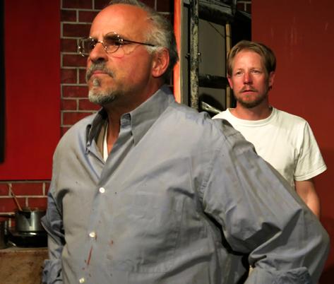David Garver and Damon Klassen in Red