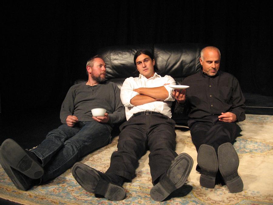 Kristian Moore, Jake Waid and David Garver in Art