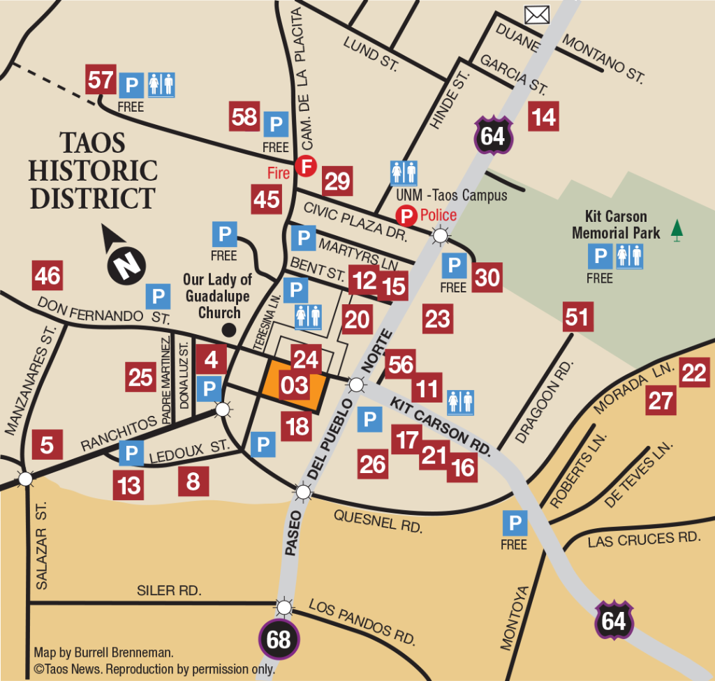 historic district map