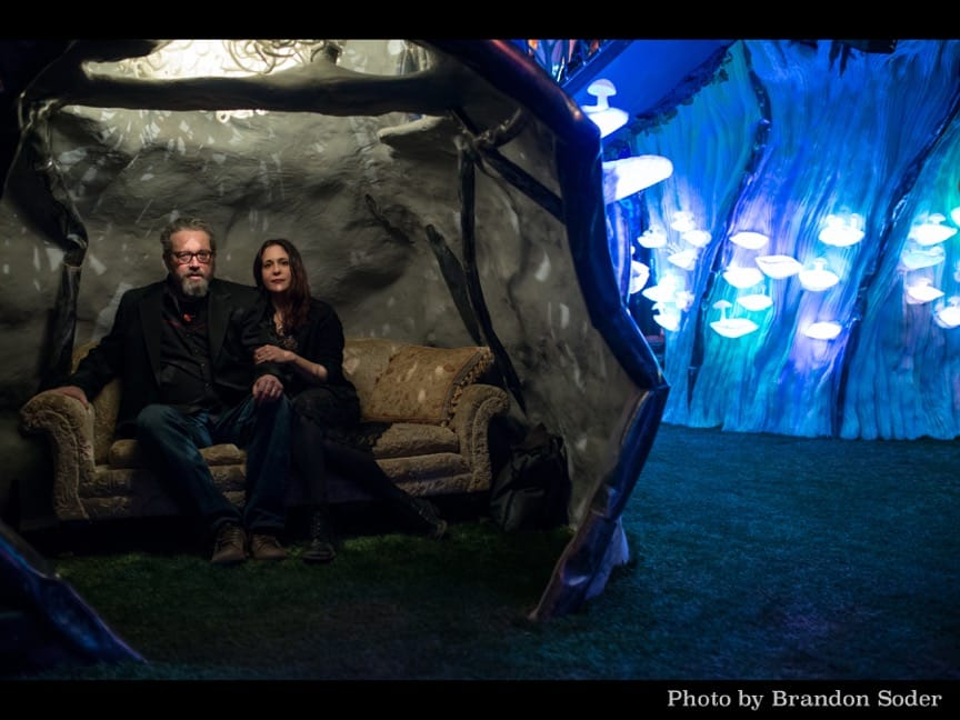 The Handsome Family at Meow Wolf. Photo by Brandon Soder