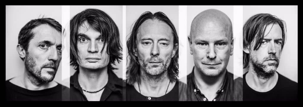 Radiohead, credit Alex Lake