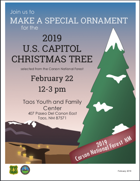 Capitol Christmas Tree 2019 Ornament Making for the 2019 Capitol Christmas Tree   Live Taos