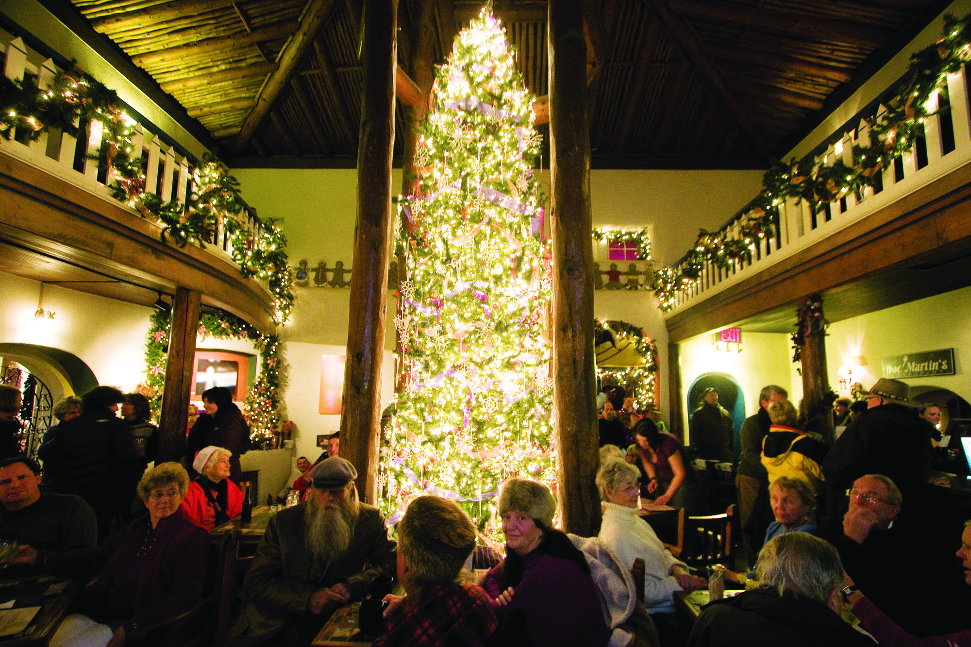 Taos Inn Christmas Tree Lighting